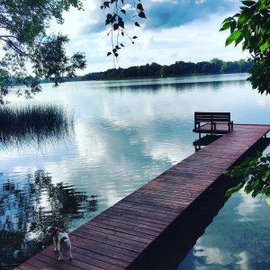 Moje podróże- Jezioro w Choszcznie